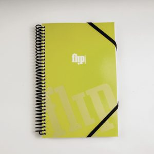 Flip Book Mini - Lime