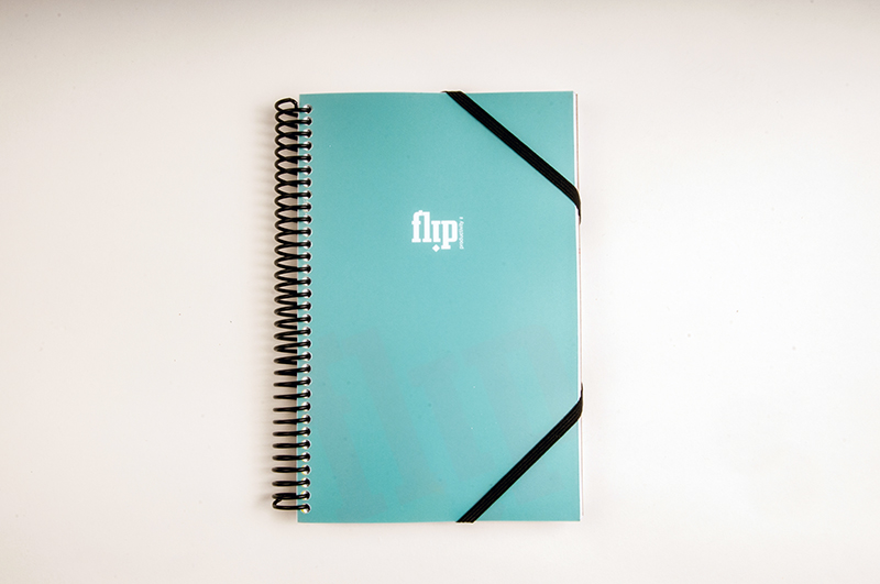 Flip Book Mini - Teal