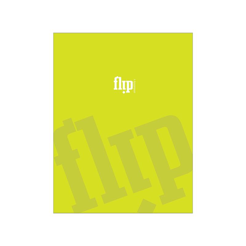Flip Book Mini - Lime