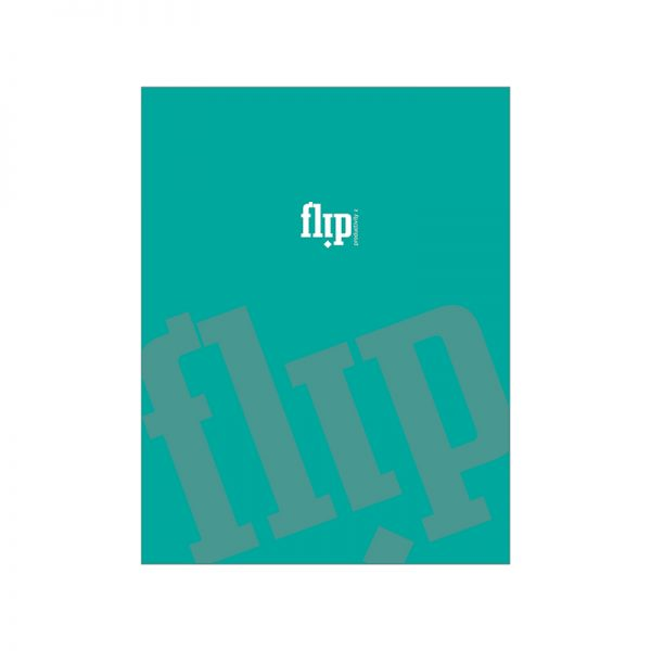 Flip Book 90 – Teal
